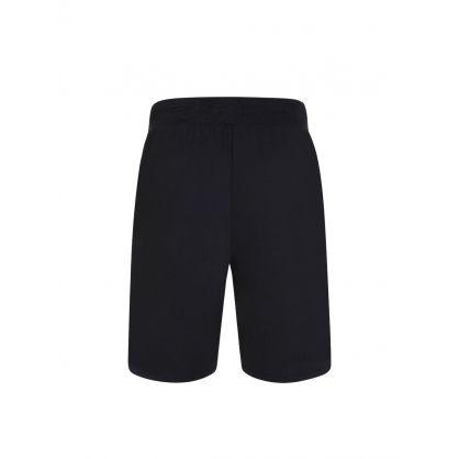Navy Heritage Emed Logo Shorts