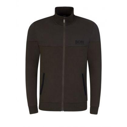 Green Tracksuit Bodywear Jacket