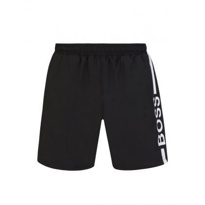 Black Dolphin Swim Shorts