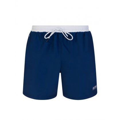 Dark Blue Starfish Swim Shorts