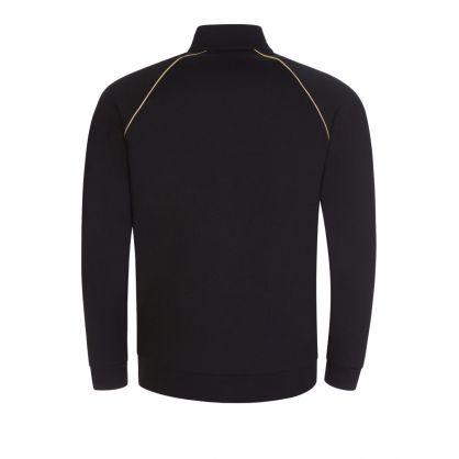 Black Bodywear Gold Logo Tracksuit Jacket