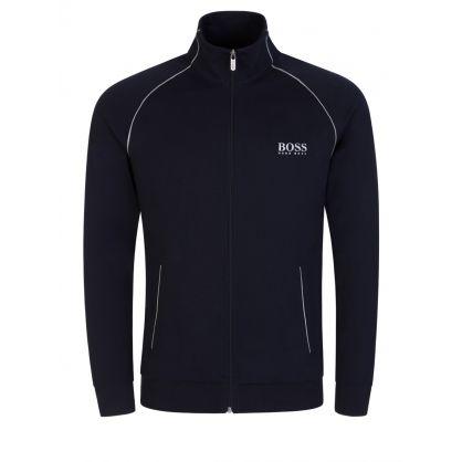Navy Bodywear Tracksuit Jacket