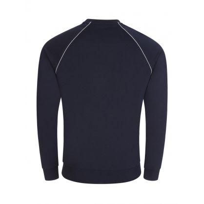Navy Bodywear Tracksuit Sweatshirt