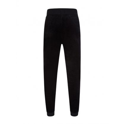 Black Bodywear Velour Sweatpants