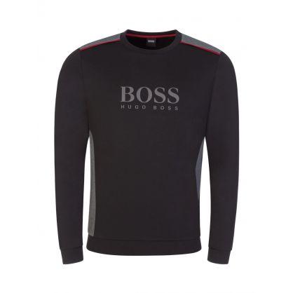 Black Bodywear Logo Track Sweatshirt