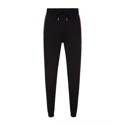 Black/Red Trim Sweatpants
