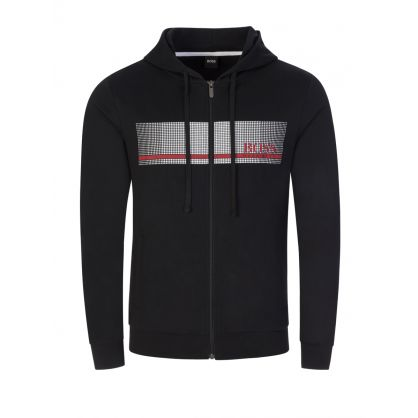 Black Bodywear Heat-Sealed Logo Authentic Hoodie