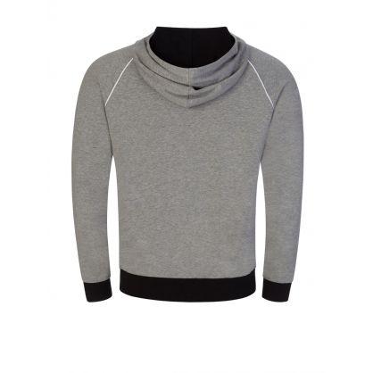 Grey Mix & Match Hooded Zip-Through