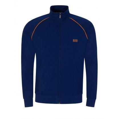 Blue Mix & Match Bodywear Zip-Through