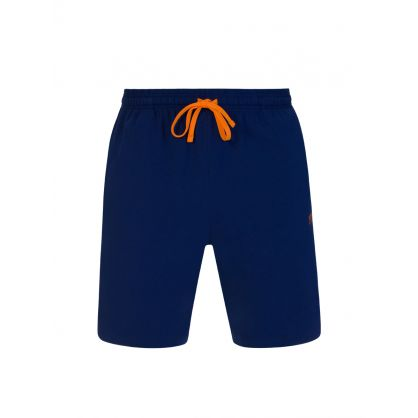Dark Blue Mix + Match Logo Shorts