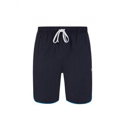 Navy Bodywear Loungewear Balance Shorts