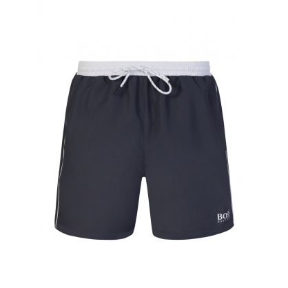 Dark Grey Starfish Swim Shorts