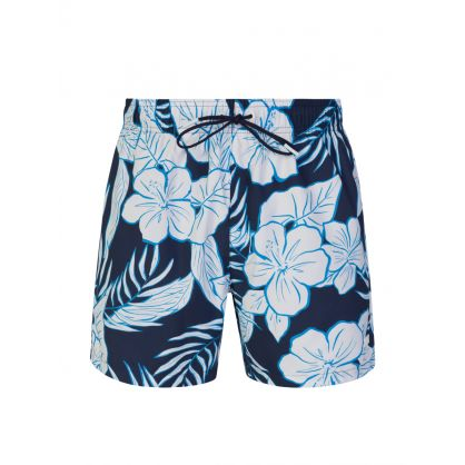 Navy Piranha Swim Shorts