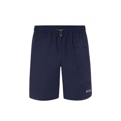 Navy Beachwear Slashfish Swim Shorts