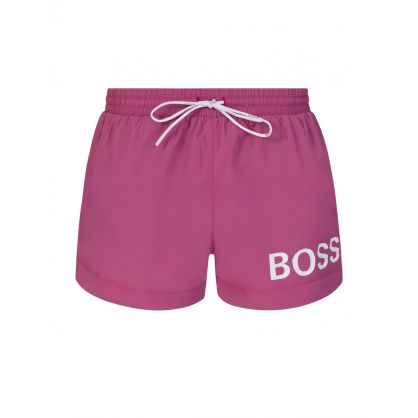 Pink Beachwear Mooneye Swim Shorts