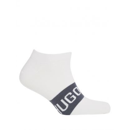 White Finest Soft Cotton Socks 2-Pack