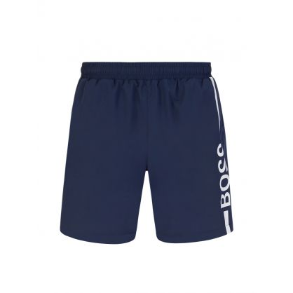 Navy Beachwear Dolphin Swim Shorts