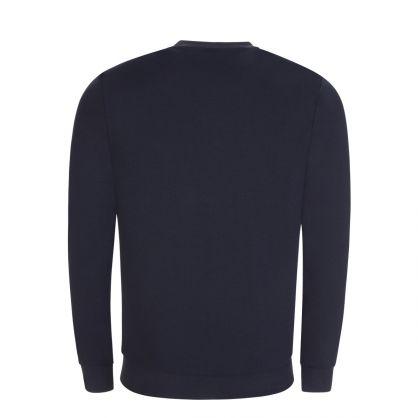 Dark Blue Bodywear Tracksuit Sweatshirt