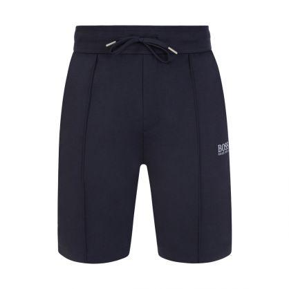 Dark Blue Bodywear Tracksuit Shorts