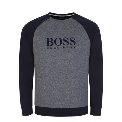 Dark Blue Bodywear Contemporary Sweatshirt