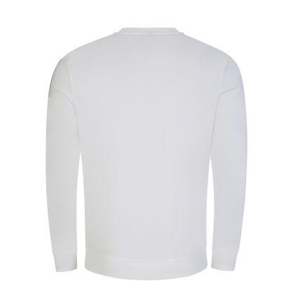 White Heritage Bodywear Logo Tape Sweatshirt