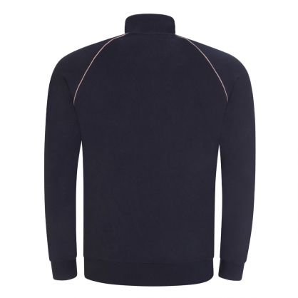 Navy Mix & Match Bodywear Hooded Zip-Through
