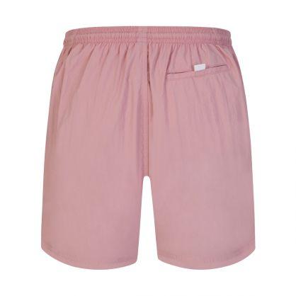 Pink Beachwear Octopus Swim Shorts