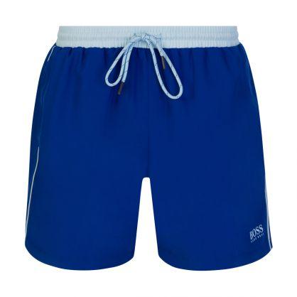 Medium Blue Beachwear Starfish Swim Shorts