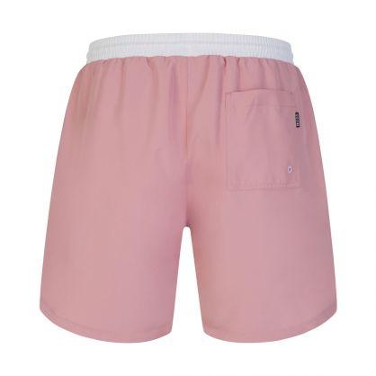 Pink Beachwear Starfish Swim Shorts
