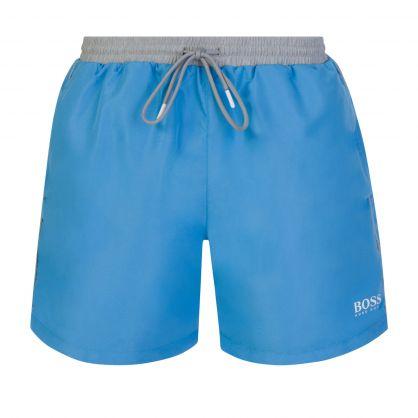 Blue Beachwear Starfish Swim Shorts