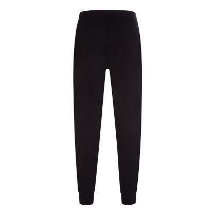 Black Bodywear Stretch-Cotton Identity Pyjama Bottoms