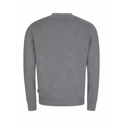 Grey 3D Embroidery Sweatshirt