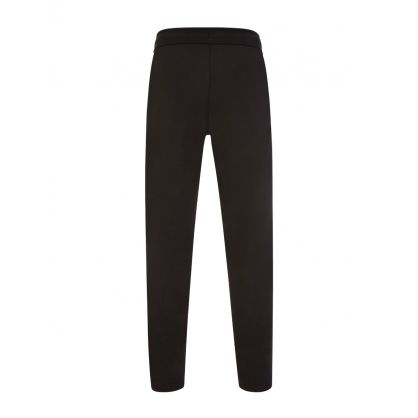 Black Spacer Logo Sweatpants
