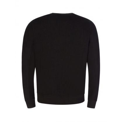 Black Tone on Tone Logo Sweatshirt