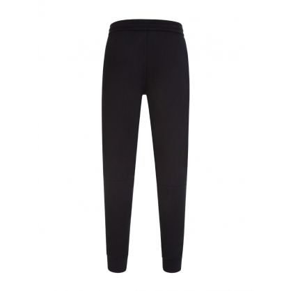 Black Organic Cotton Logo Sweatpants