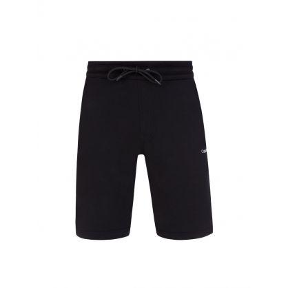 Black Organic Cotton Shorts