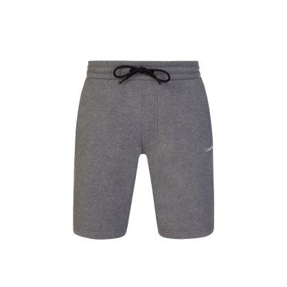 Mid Grey Logo Shorts