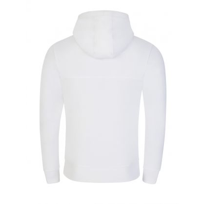 White Organic Cotton Hoodie