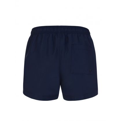 Navy Logo Tape Swim Shorts