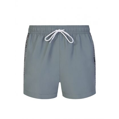 Grey Drawstring Swim Shorts