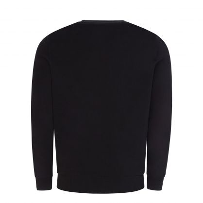 Black Logo Tape Sweatshirt
