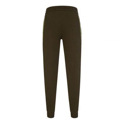 Green Essential Logo Tape Sweatpants