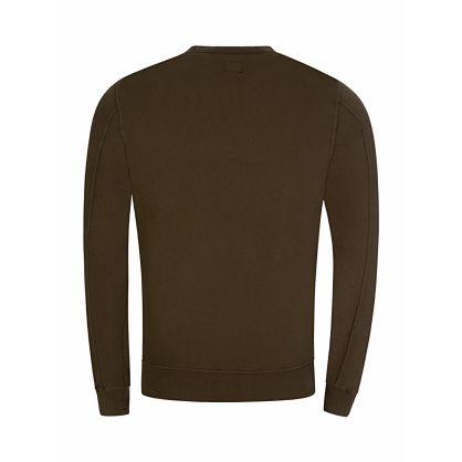 Green Goggle Sleeve Sweatshirt