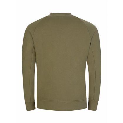 Green Zip Pocket Sweatshirt