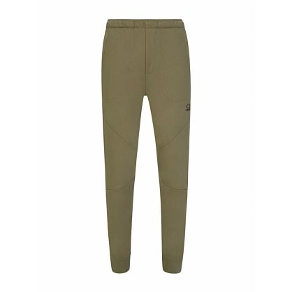 Green Logo Jogging Sweatpants