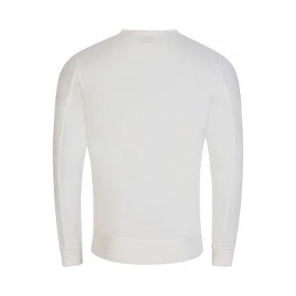 Cream Lightweight Fleece Sweatshirt