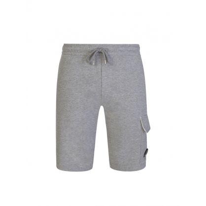 Grey Bermuda Cargo Sweat Shorts