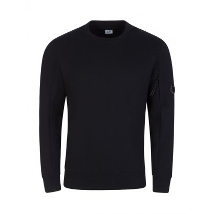 Black Goggle Lens Sweatshirt