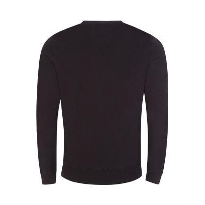 Black Fleece Garment-Dyed Label Sweatshirt