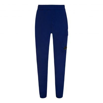 Blue Chrome-R Track Pants